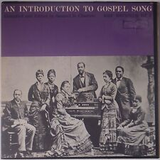 AN INTRODUCTION TO GOSPEL SONG: Folkways RBF Vinyl LP Rare VG+