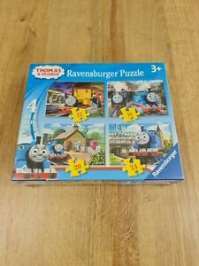 THOMAS & FRIENDS Thomas The Tank Engine 4x Jigsaw Puzzles Ravensburger New