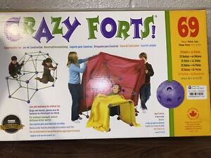Crazy Forts CF1 69 Pieces Construction Toy - Purple - * Open Box *