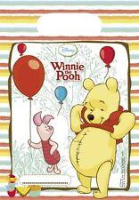 Winnie L'ourson Pochette Surprise Pour Fête 6pk Disney Vaisselle De Anniversaire