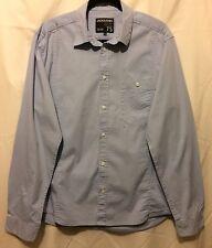 Jack & Jones Strength 75 Size XL Men's Long Sleeve Pocket Front Shirt Light Blue