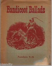 Vintage BANDICOOT BALLADS NUMBERS 9-16 8 AUSTRALIAN BALLADS WORDS & MUSIC c1958