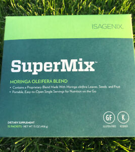 NEW ZIJA SuperMix Core Moringa 32 sachets - Exp 4/22 - FREE & Fast Shipping!