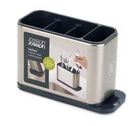 JOSEPH JOSEPH Kitchen Caddy Cutlery Drainer Stainless Steel Sink Area Organiser