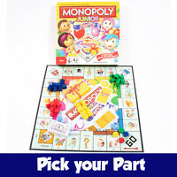 PICK YOUR PARTS - Monopoly Junior Party Board Game - SPARES / REPLACEMENTS