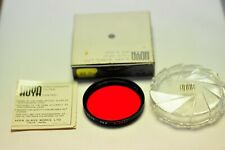 Hoya 49mm Red(25A) filter. New.