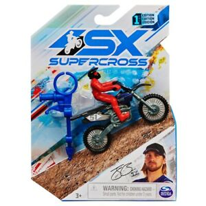 Jordan Jarvis 1:24 Scale Collector Die-Cast Motorcycle SX SUPERCROSS #30