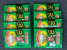 Lot (8) 1986 Original 3rd Series Garbage Pail Kids Unopened Packs NM Condition