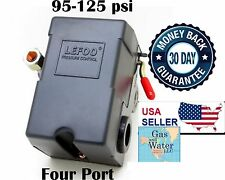 Air compressor control switch 95-125 psi FOUR PORT Universal Replacement