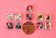 Dolls House Miniature 10 Modern  Assorted CD's (DD180) Additional Items P&P FREE