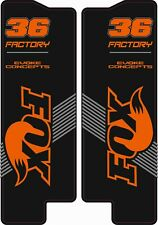 Fox 36 fork decals (mountain bike suspension stickers graphics)