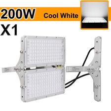 200W Watt Led Flood Light Cool White Spotlight Garden Shed Outdoor Lighting Lamp