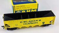 AHM 5460-18 Delaware & Hudson 4 Bay Hopper D&H 1199 HO Scale