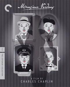 MONSIEUR VERDOUX (1947) dir: C. Chaplin / Blu-ray / Criterion / Mint, as new