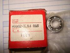 Honda 2001 CR 125 y CR 500 manivela caso Cojinete 91002-KA4-005 N.O. S #