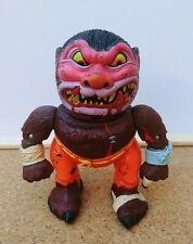 Vintage 1986 RARE Mad Balls Madballs Wolf Breath Action Figure Head Popping