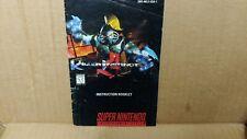 Killer Instinct SNES Super Nintendo Instruction Booklet Manual Only NO GAME