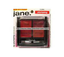 JANE.* Lip Plumping #10 REDS Gloss/Color Palette w/Brush NO PARABENS (Carded)