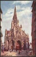 Rouen. Normandy. France. Église Saint-Maclou. Vintage Raphael Tuck Oilette PC