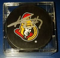 KYLE TURRIS signed AUTOGRAPHED OFFICIAL NHL OTTAWA SENATORS LOGO HOCKEY PUCK