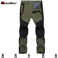 Windproof Hiking Softshell Pants Mens Waterpoof Pants Mountain Climbing Trousers