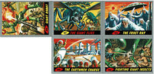 Mars Attacks 2012 Heritage SILVER CARDS 11 CARD LOT PLUS 2 WRAPPERS/POSTER