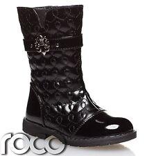 Girls Black Patent Boots, Girls Winter Boots, Girls Boots, Kids Boots