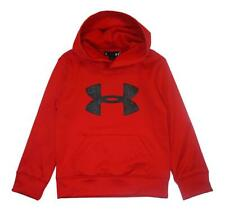 Under Armour Boys Red & Black Pull-Over Hoodie Size 5