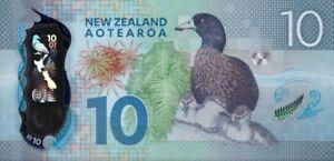 NEW ZEALAND 10 DOLLARS 2015 P-192 POLYMER