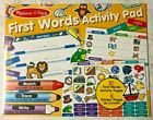 Melissa and Doug First Words Activity Pad Writing/Reading Training 30530 NEW