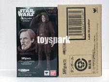 Bandai Tamashii Ver S.h. Figuarts Star Wars The Last Jedi Luke Skywalker Figure