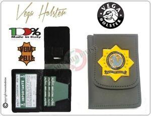 Portafoglio Porta Documenti Placca INTERPOL Vega Holster Italia 1WD83 Polizia