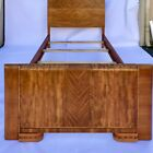 Antique French Art Deco Twin Bed Frame