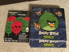 Angry Birds Birthday Party Pack Supplies Decoration Set. New. Napkins Balloons