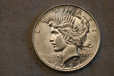 1927 D  United States Peace silver Dollar