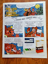 1971 Doral Cigarette Ad  The Case of Singing Cig Shirlock Holmes & Watson Theme