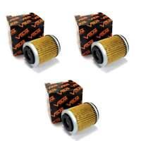 Volar Oil Filter - (3 pieces) for 2004-2013 Yamaha YFM350R Raptor 350