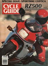 1984 September Cycle Guide - Vintage Motorcycle Magazine
