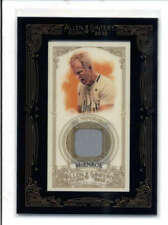 JOHN MCENROE 2012 TOPPS ALLEN & GINTER MINI USED WORN MATCH RELIC SP AY9923