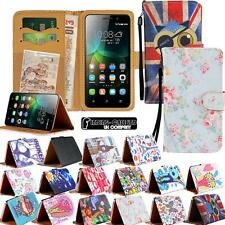 New Leather Stand Flip Wallet Cover Mobile Phone Case For Huawei P2/P6/P7/P8/P9