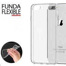 Funda Gel Silicona Transparente Proteccion Antigolpes para iPhone 8 Plus