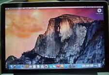 """MacBook Pro 15,4"""" - 2011 core i7 2 GHz CPU quadricœur/4 Go RAM/750 Go"""