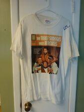 Samson Burke Signed L Hercules (3 Stooges) T Shirt w COA