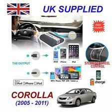 para TOYOTA COROLLA IPHONE 5 6 7 8 se10 MP3 AUX Audio Digital Cambiador de CD