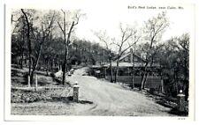 Bird's Nest Lodge near Cuba, MO Postcard
