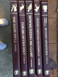 North American hunting club books Lot Of 4 at $4 each Your choice of books