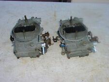 Holley 9776 Pair 450 Cfm 2x4 Dual Quad Tunnel Ram Cross Ram Carburetors