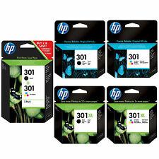 Cartouche d'encre HP 301 noir ou couleurs