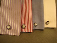 Collection of FOUR Pairs of Art Deco Snap Link, Snapper, Kum a Part Cuff Links