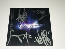 Evanescence Rare Band Signed CD Book Booklet AMY LEE Autographed + Candid Photo